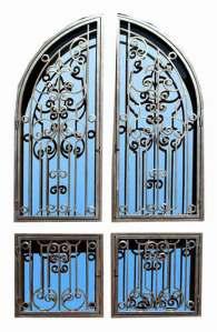 Door Grill - Handforged Wrought iron - GR1456