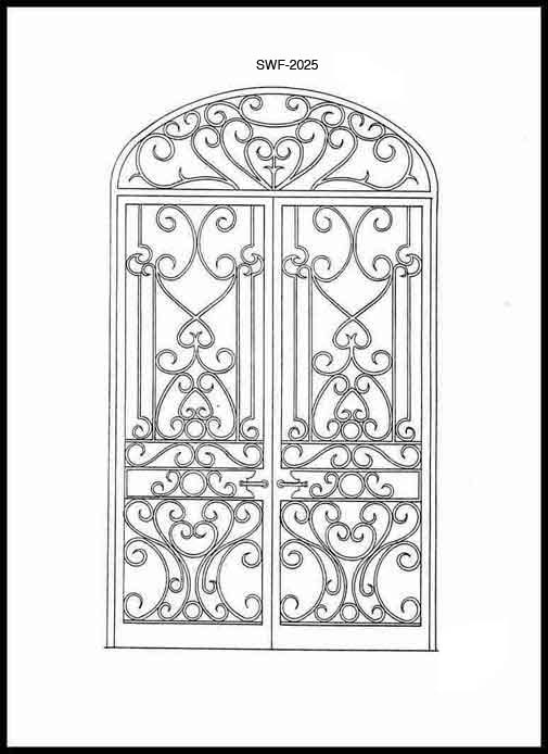 Gate Design | Wrought Iron | Entry Gates