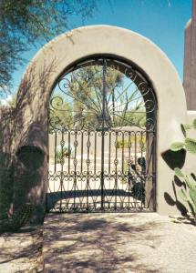 Gate - Wrought Iron Custom Access Gates - 1349IG