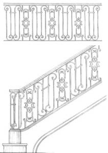 Stair Railing Designs ISR649
