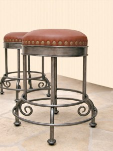 Bar Stool - Hand Forged In USA   - SWS180
