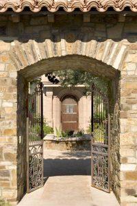 Gates Wrought Iron -  Italy 15th Cen Iron Gate Designs  -  GG699