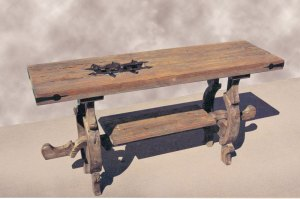 Coffee Table - Design From Historic Record -  SPLT406
