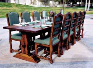 Dining Table - Castle Dining Table - CFT346