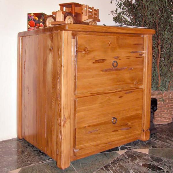 Custom Wood Filing Cabinets - Handmade Furniture - MLOD562E