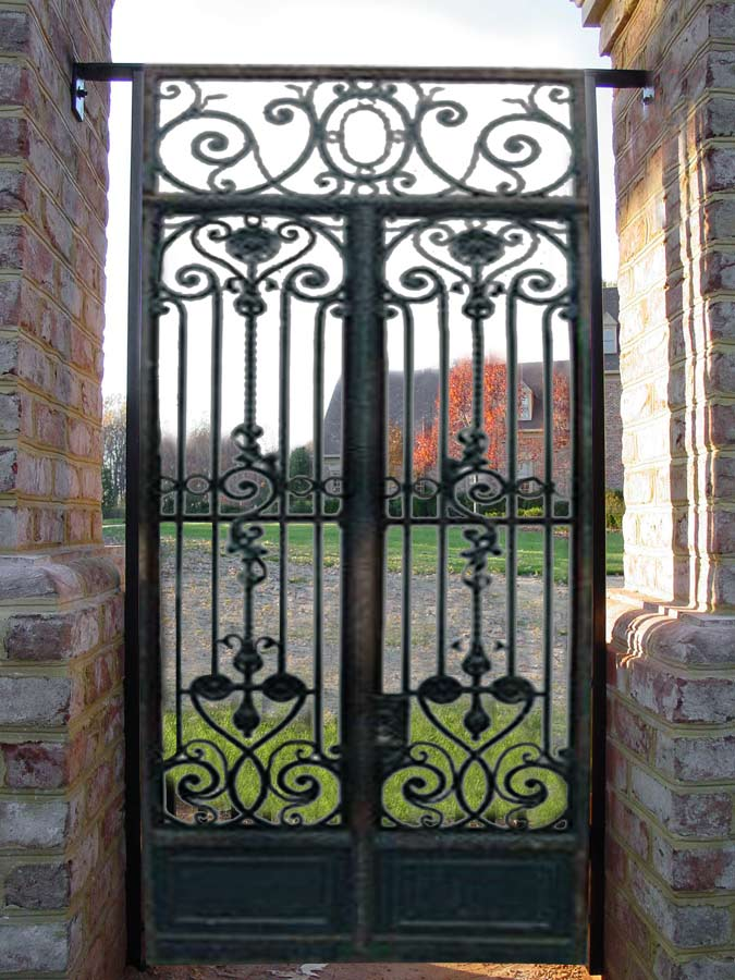 Iron Gate - Design From Antiquity on Iron Get Design  id=22125