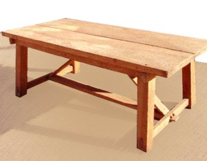 Farm Table Mortis And Tenon  -  HTA55