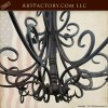 Spanish Iron Chandelier Custom Hand Forged  - LC504A