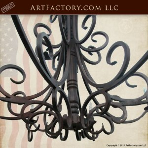 custom Spanish chandelier