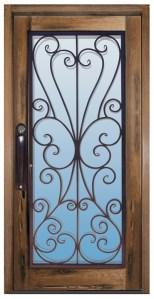 Glass Door - 17th Cen Ireland - 6011WI