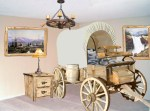 Wagon Bed - American Western Covered Wagon - CBB696