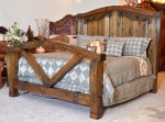 King Bed - Craftsman Style Bed -  CFBS315A