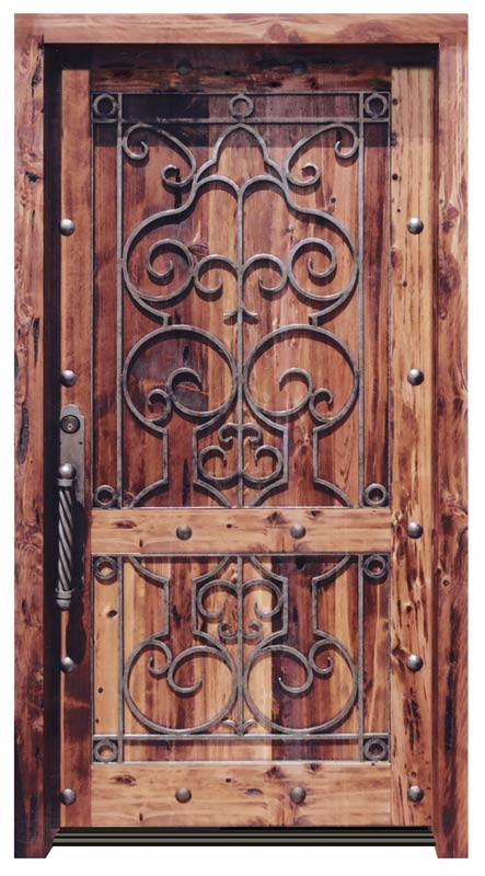 Entrance Door - Chateau de Beynac 13th Cen France - 8018WI