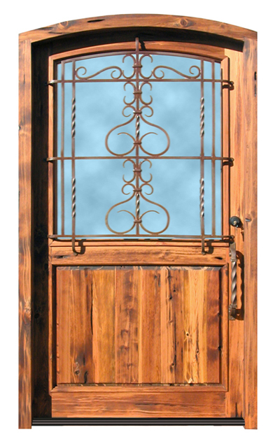 Wood Custom Door Edinburgh University Inspired - 9020GPA