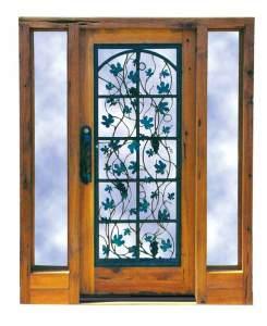 Wine Celler Door - Civita Castellana 10th Cen Door - 3012WIA