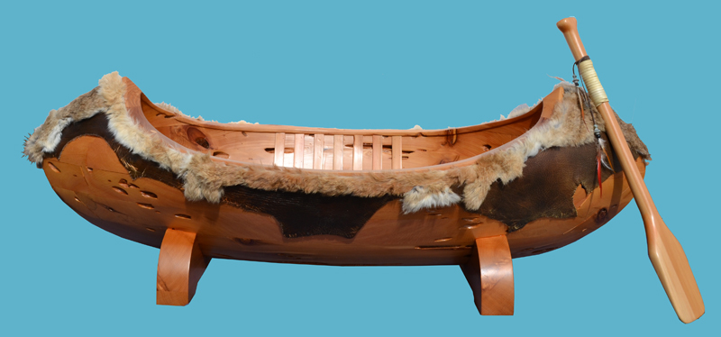 Canoe Coffee Table - Designed From Historic Record - SWLT134