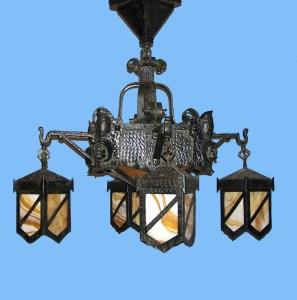 Antique Chandelier - Historic Chandeliers Custom Made - LC0901