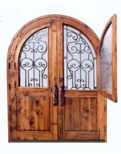 Entrance Doors -   San Leo Castle 12th Cen Italy - 2454WI