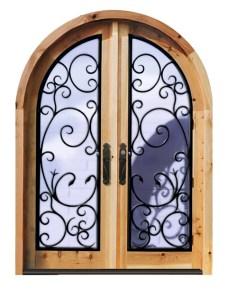 Arched Doors - Chateau de Nangis 13th Cen France - 2456WI