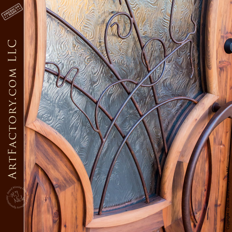 Paris Inspired 1899 Door, Entrance Doors Custom Made - HRD998S