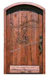 Door -  Belvoir Castle 13th Cen England - 3810HC
