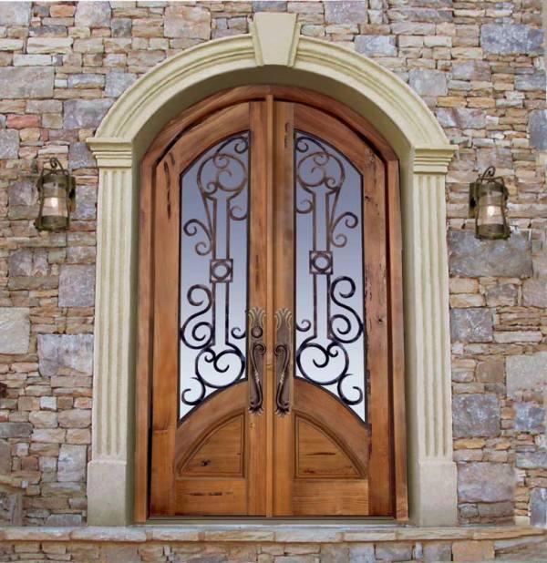 Custom Castle Doors - Castello di Lombardia Sicily - 8020WI