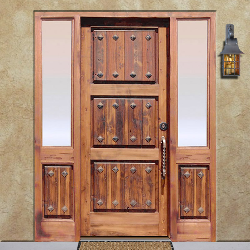... Entry Door - Chateau de Salignac France 12th Cen Style - 5011RP & Historical Doors | Chateau Doors | Entry Doors | Solid Wood Doors