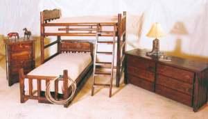 Bunk Beds - Western Design Bunk Beds - CBBS637