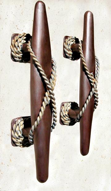 Nautical Mooring Cleat Design Door Pulls - HH300