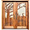 Carved Door - Glamis Castle 9th Cen Scotland - 4000HC