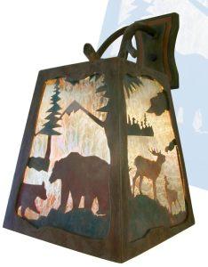 Sconce- Wilderness Western Rockies America 21st Cen - LS170