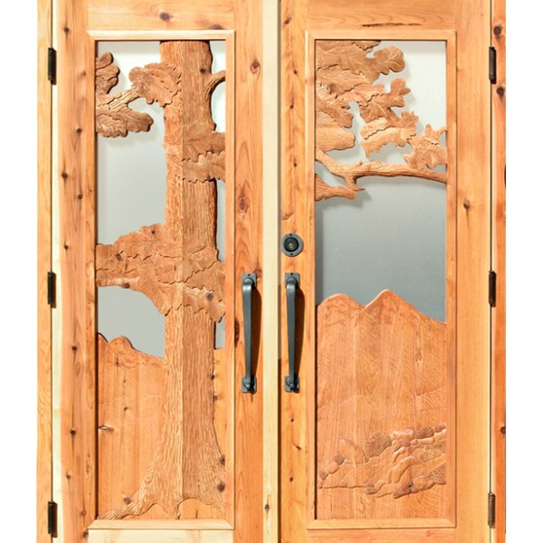 Double Doors Designed From The Historical Record - 4920HC