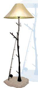 Floor Lamp - Fly Fishing - Pine Limbs - LF739