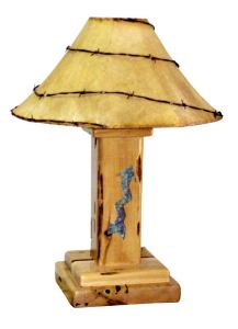 Western Table Lamp -  Design From Historic record - LT604