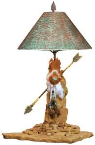 Table Lamp - Arrow - Navajo Nation North America - LT613