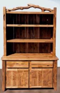 Display Hutch - Lodge Display Cabinet - MLB581