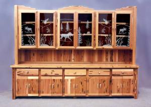 Display Hutch - Display Cabinet -  MLB582B