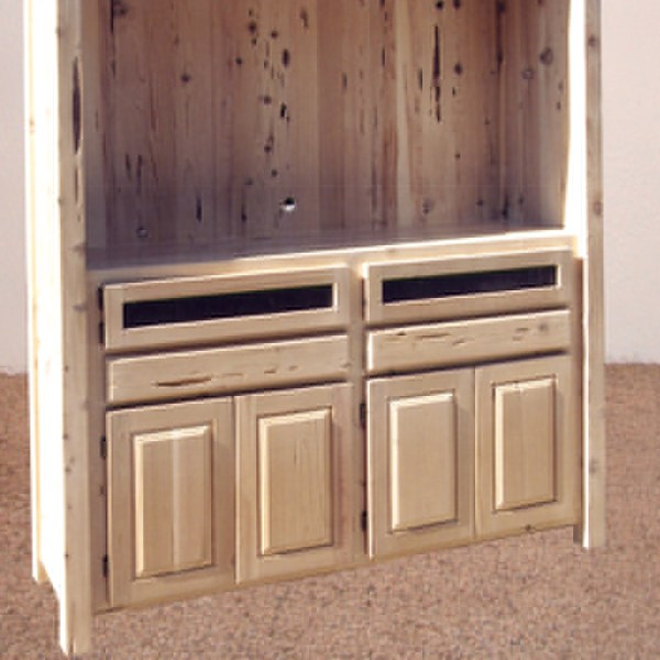 Entertainment Center - Hand Crafted In America - CTEC791