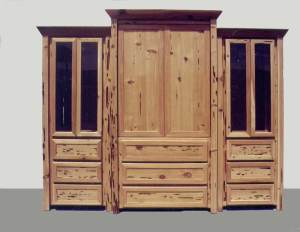 Entertainment Center - Hand Made In America Since 1913- CTEC222