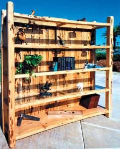 Bookshelves - Custom Wood Furniture - CTBC236