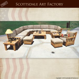 Sectional Sofa - New Arts And Craftsman Style -  SWC522