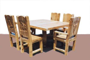 Dining Table - Lodge Dining Table - CBT629
