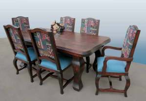 Dining Table - Fine Dining Table 17th Cen - CFT390