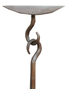 """Hand Forged Hooks And Mounting Plates 1/4"""" Steel - HH500"""