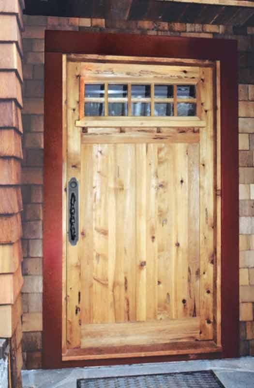 Entrance Door   Craftsman Mission Style Wood Doors   5376GF ...