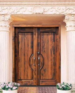 Entry Doors - Solid Wood Grand Entrance - 2640ST