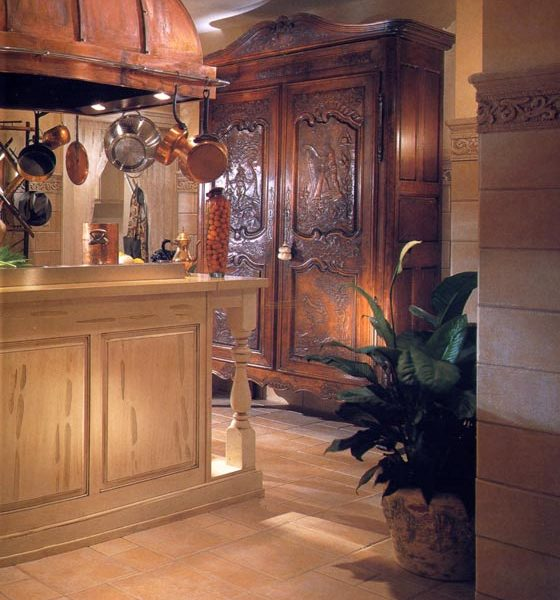 Kitchen Cabinets - Designed From The Historical Record - KIT300
