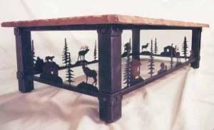 Table - Wilderness Theme Lodge Table  -  MLLT594