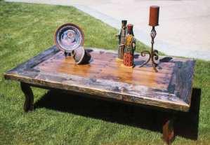 Coffee Table - Table Mission Santa Barbara 1786 USA - SPLT444