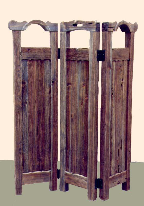 Dressing Partitions Western Style Room Divider Solid Wood
